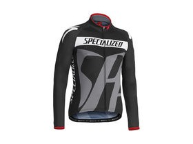 SPECIALIZED Pro Racing Jersey LS Black/Gray
