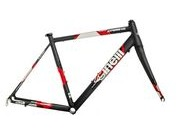 Cinelli Experience Black Frameset  click to zoom image