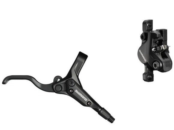 Shimano Acera BR-M395 / BL-M425 bled disc brake lever and post mount callipe click to zoom image