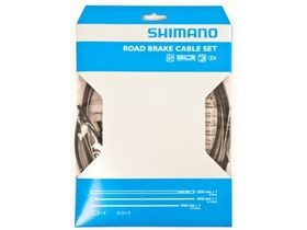 Shimano Road brake cable set with stainless steel inner wires, black