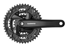 Shimano Acera M371 - 26/36/48 - 9 Speed Chainset in Black