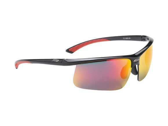BBB Winner Triple Lens Set Gloos Black Red MLC Lens click to zoom image
