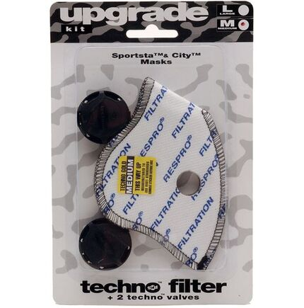 Respro Techno Filter/Valves click to zoom image