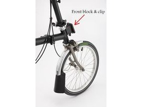 Brompton FRONT CARRIER BLOCK & CLIP