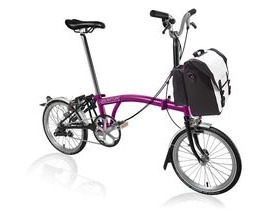 Brompton M3L Berry Crush/Black