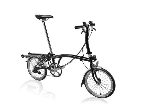 Brompton S6R Black click to zoom image