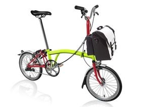 Brompton M3L Lime Green/Red