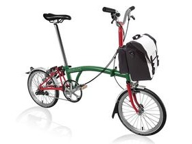 Brompton M3L Racing Green/Red