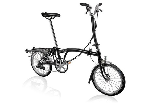 Brompton H6R All Black click to zoom image