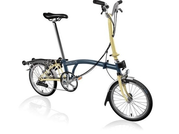 Brompton H6R Tempest Blue/Ivory click to zoom image