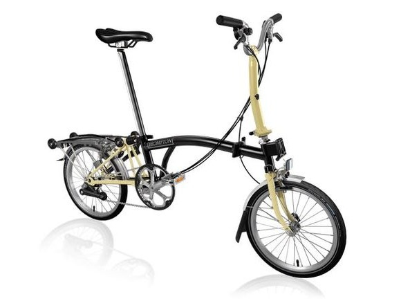 Brompton M6R Black/Ivory click to zoom image
