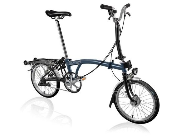 Brompton M3R Tempest Blue/Black Shimano Dynamo click to zoom image