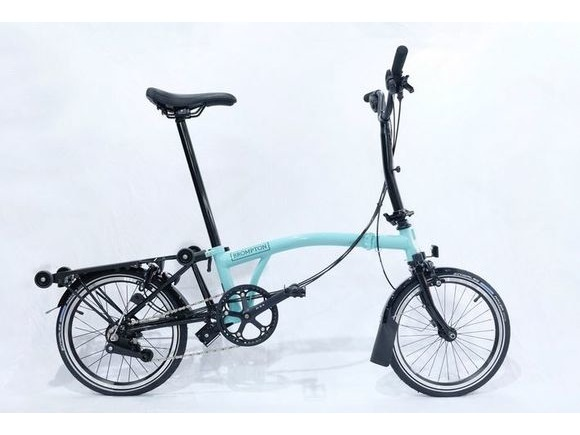 Brompton Black Edition H6R Gloss Turkish Green/Black click to zoom image