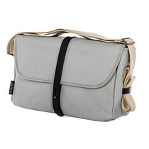 Brompton Grey Shoulder Bag with Mounting Frame