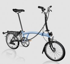 Brompton M6R Cloud Blue/Black