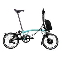 Brompton Electric M6L Turkish Green/Black