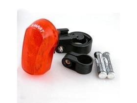 Smart 7 LED 3 Function Rear Light (inc Batt)