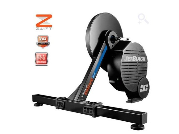 Jet Black Whisper Drive Smart Trainer click to zoom image