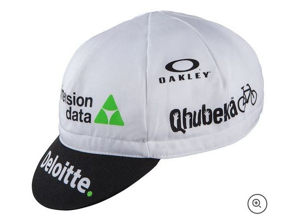 Nalini Dimension Data Cotton Cap - Black/White click to zoom image